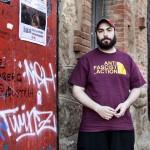 Militant del moviment antifeixista de Marseilles